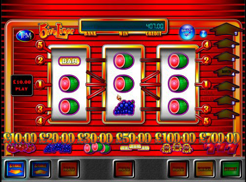 5ive Liner is a classic slot game from JPMi software which is so packed with features it feels like a modern video slot.