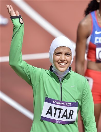 Despite finishing more than a minute behind her competitors, Attar still struck a huge blow in fight for women's empowerment within the Saudi state.