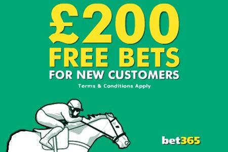 bet365 free bet