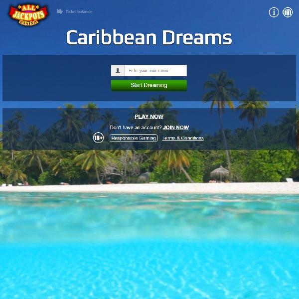 Win a Dream Caribbean Holiday at All Jackpots Casino