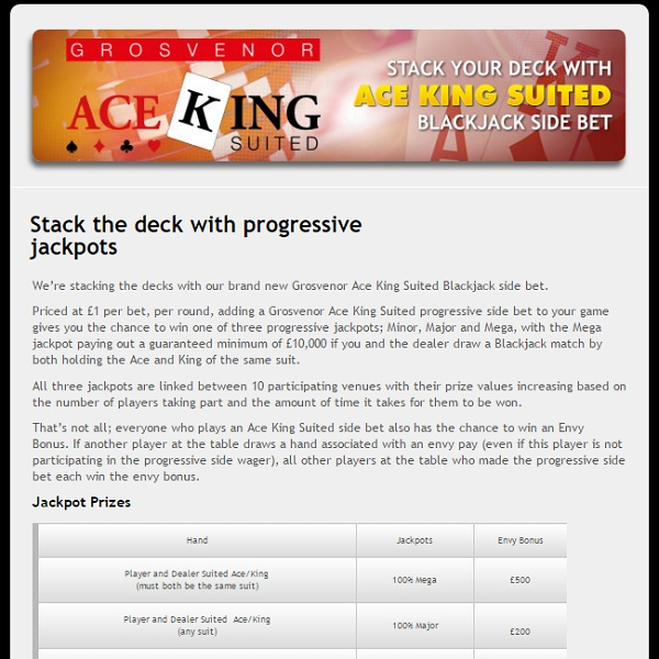 Progressive Blackjack | Casino.com in Deutsch