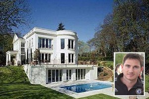 Frank Lampard's mansion in Chelsea