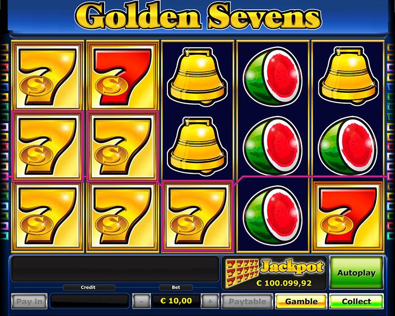 golden sevens jackpot
