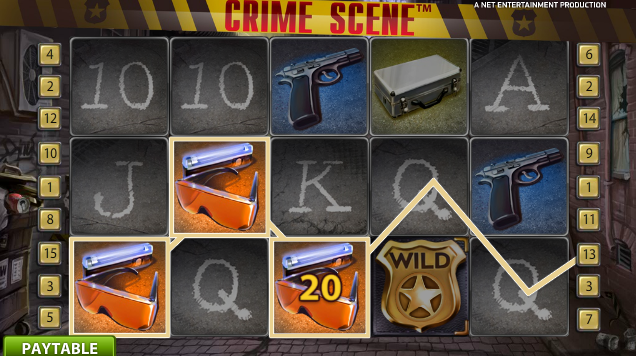 Crime Scene is the perfect game to play at night after watching a tense crime show