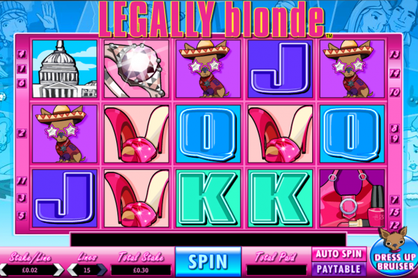 Fans of the Legally Blonde films will love this slot game featuring a fun bonus round with guaranteed cash prizes.