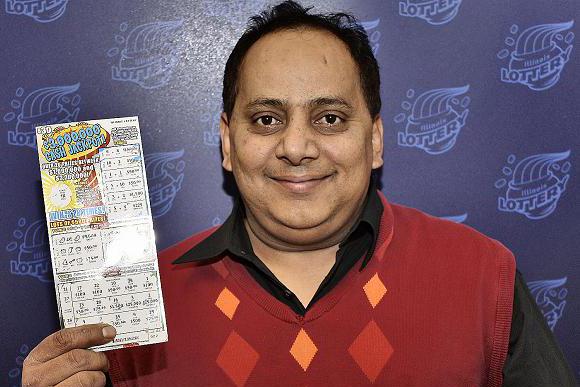 Lottery winner killed illinois