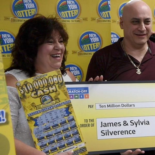 Couple Wins Largest Ever New York Lottery Scratch Card Jackpot