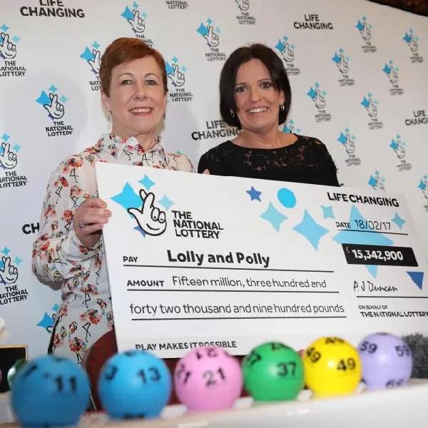 Two Best Friends Share £15 Million Lottery Win