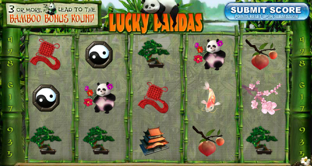 "Lucky Pandas is a new slot game at Winner Casino. Developed by Playtech, Lucky Pandas has 5 reels and uses the ""all ways"" payline method. As the name suggests, Lucky Pandas is all about pandas and Chinese lifestyle"