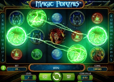 play magic portals slot game for free