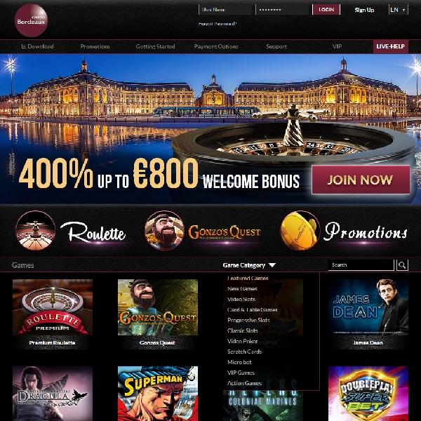 casino bordeaux online