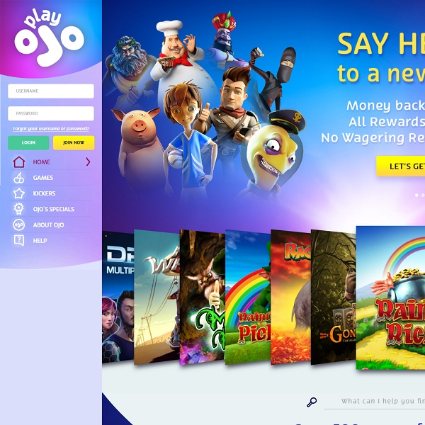 playOJO Casino Review – Putting the Player First