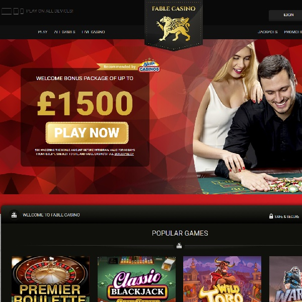 Fable Casino Goes Everywhere With You