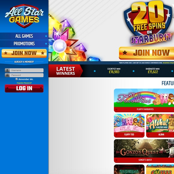 All Star Games Casino Aims for the Best of Online Gaming