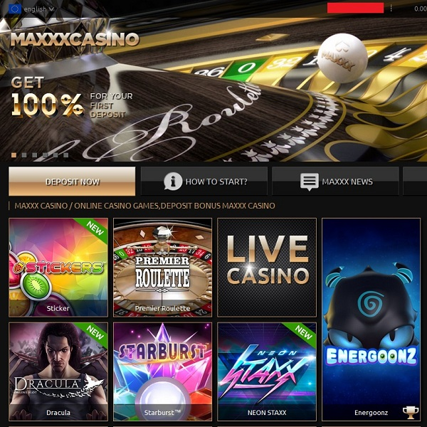 maxxx casino
