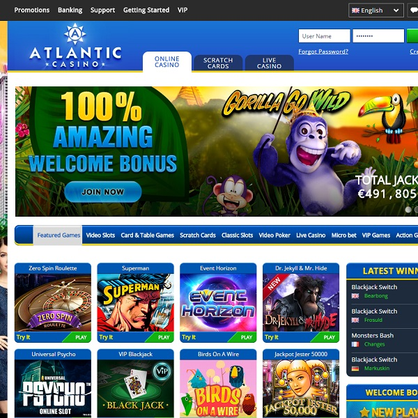 Atlanti casino indepth casino review