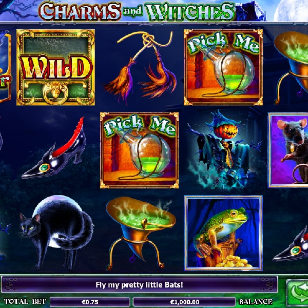 Halloween Witch Slot - Review and Free Online Game