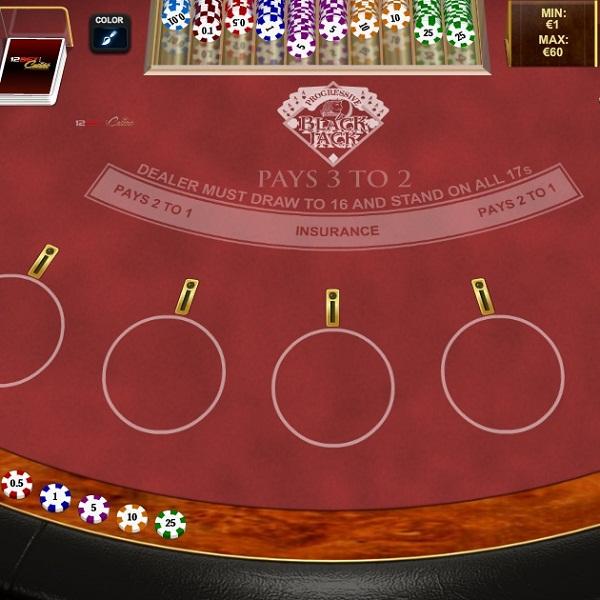 progressive jackpot blackjack