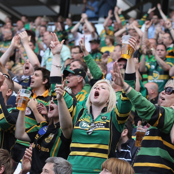 Northampton Saints vs Newcastle Falcons