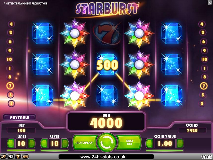 online casino starburst