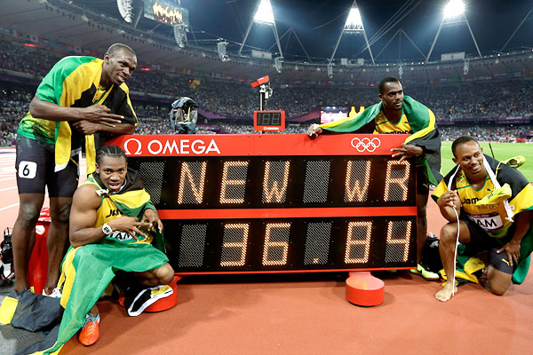It was a stunning finale to Jamaica's best ever Olympic performance.