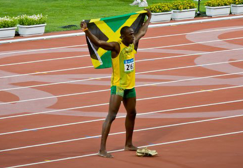 The two top contenders for the gold are Usain Bolt and Yohan Blake