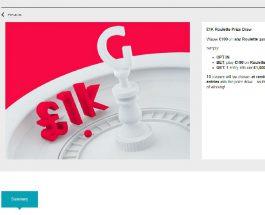 Win Cash Prizes in Gala Casino £1K Roulette Prize Draw