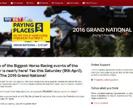 Sky Vegas Offer Grand National Betting Promotions