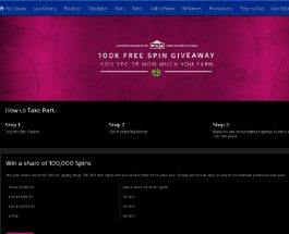 Win a Share of 100K Free Spins at Sky Casino