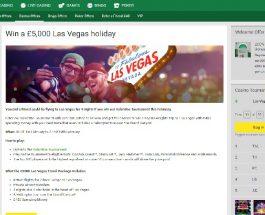 Win a Trip to Las Vegas at Unibet Casino