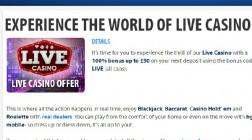 Enjoy a Live Dealer Deposit Bonus At BGO Casino