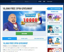 Win a Share of 10K Free Spins at BGO Casino