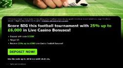 Enjoy Up to £6,000 of Live Casino Bonuses at 888 Casino