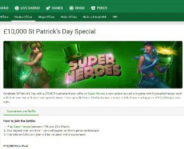 Win a Share of £10K in Unibet Casino's Superhero Promotion