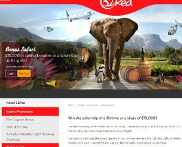 Win a Safair Holiday in South Africa at 32Red Casino