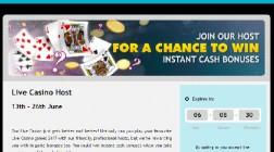 Grosvenor Casino Offers Live Dealer Instant Cash Bonuses