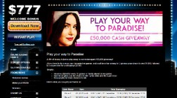 Win a Share of £50,000 at Club 777 Casino