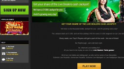 Win a £1,000 Live Dealer Jackpot at NetBet Casino