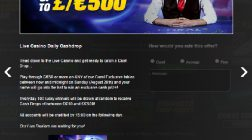 Win Up to £500 Cash Daily at Coral Casino