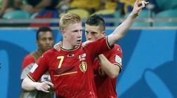 It's Belgium vs. Argentina at the FIFA 2014 Quarter-Finals