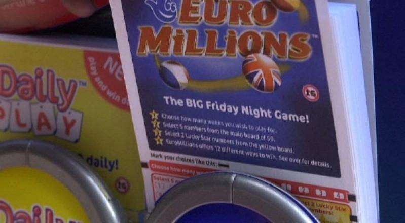 EuroMillions Jackpot Worth €190 Million on Friday