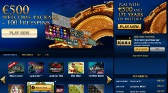 Tivoli Casino Launches With Over 300 Games