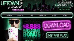 Uptown Aces Casino Offers Realtime Gaming