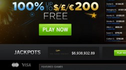 Jackpot Paradise Casino Offers Numerous Progressive Jackpots