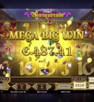 Royal Masquerade Slot from Play N Go Guarantees Free Spins Winnings