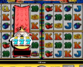 4 Reel King$ Slot Features 4 Sets of Reels