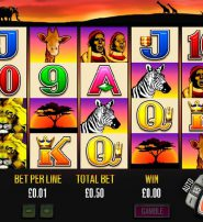 50 Lions Slot Features Free Spins and Frozen Wilds
