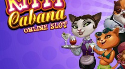 Kitty Cabana from Microgaming Offers Free Spins and Stacked Wilds
