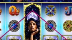 Moon Goddess Slot Machine Offers Wheel Bonuses