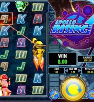 Apollo Rising from IGT Features 8 Rows and Expanding Wilds